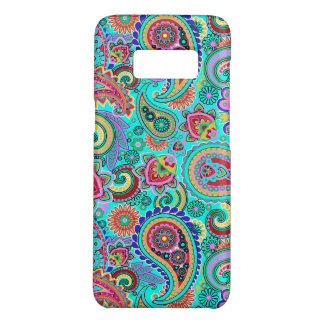 Colorful Floral Retro Paisley Case-Mate Samsung Galaxy S8 Case