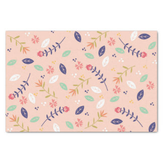 Colorful Floral Tissue Paper