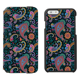 Colorful Floral Tribal Paisley Pattern Incipio Watson™ iPhone 6 Wallet Case