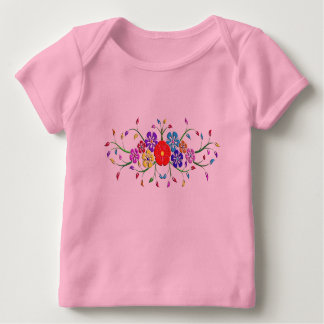 colorful flower bouquet baby T-Shirt