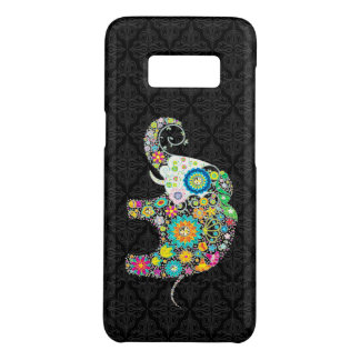 Colorful Flower Cute Elephant Design Case-Mate Samsung Galaxy S8 Case