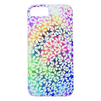 Colorful Flower design iPhone7 Case