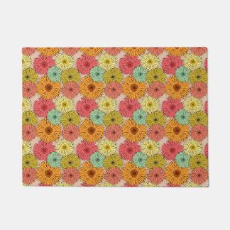 Colorful Flower Door Mat