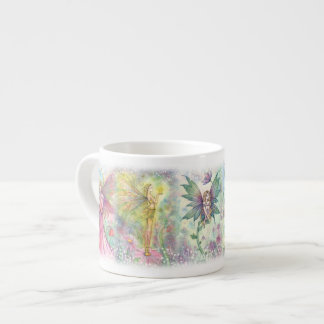 Colorful Flower Fairies Espresso Cup