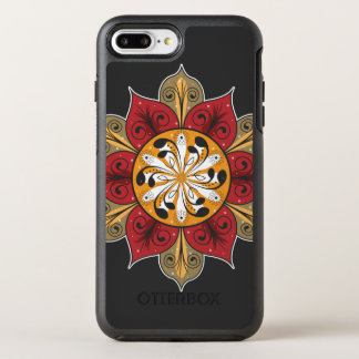 Colorful Flower Pattern OtterBox Symmetry iPhone 8 Plus/7 Plus Case