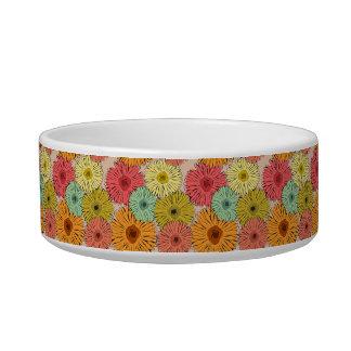 Colorful Flower Pet Bowl