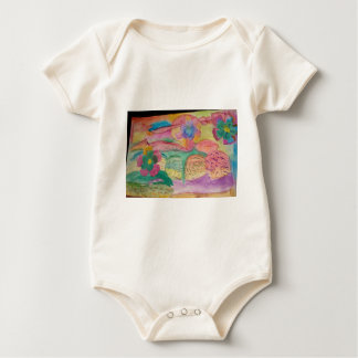 Colorful flower printed items, gifts , fashion. baby bodysuit