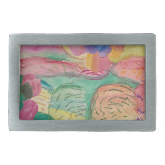 Colorful flower printed items, gifts , fashion. belt buckle