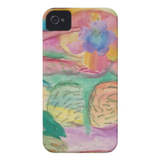 Colorful flower printed items, gifts , fashion. iPhone 4 Case-Mate case