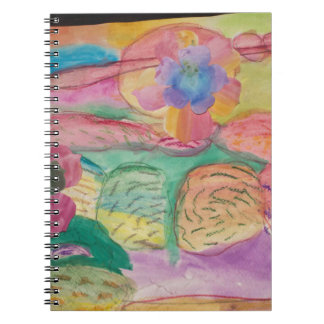 Colorful flower printed items, gifts , fashion. notebook
