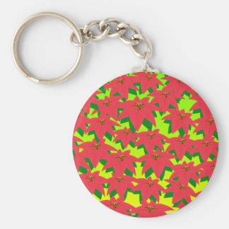 Colorful Flower Storm Key Chain