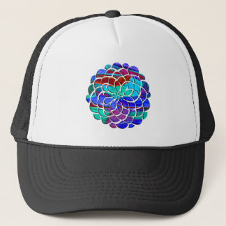 Colorful Flower Trucker Hat
