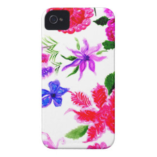 Colorful Flowers 2 Case-Mate iPhone 4 Case