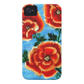 Colorful Flowers 3 iPhone 4 Case