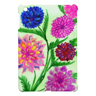 Colorful Flowers 4 Cover For The iPad Mini
