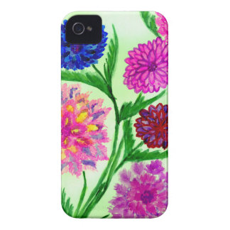 Colorful Flowers 4 iPhone 4 Case-Mate Case