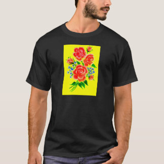 Colorful Flowers Art 2 T-Shirt