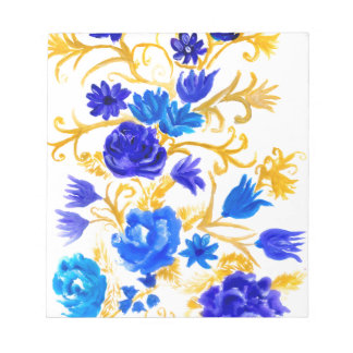Colorful Flowers Notepads