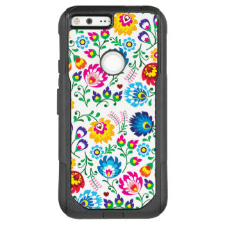 Colorful Flowers OtterBox Google Pixel XL Case
