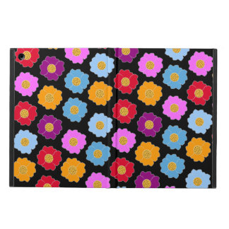Colorful flowers pattern iPad air cover