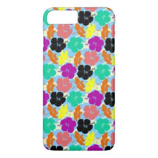 Colorful flowers patterns design iPhone 7 plus case