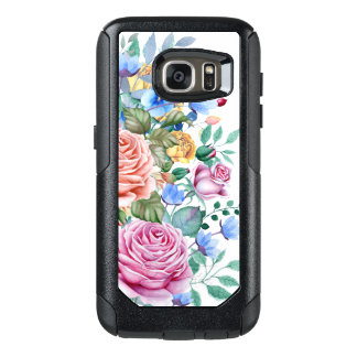 Colorful Flowers & Roses Bouquet D2 OtterBox Samsung Galaxy S7 Case
