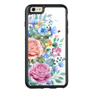 Colorful Flowers & Roses Bouquet Design OtterBox iPhone 6/6s Plus Case