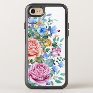 Colorful Flowers & Roses Bouquet OtterBox Symmetry iPhone 8/7 Case
