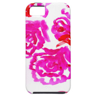 Colorful Flowers Strokes 3 iPhone 5 Cases