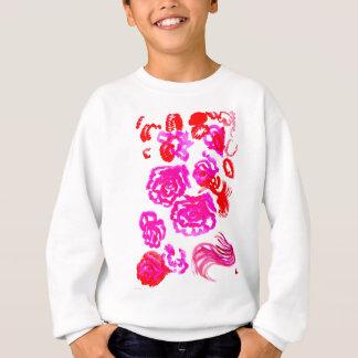 Colorful Flowers Strokes 3 Sweatshirt