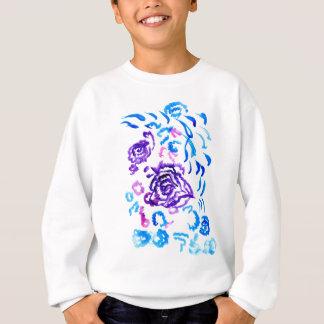 Colorful Flowers Strokes 4 Sweatshirt