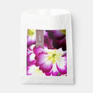 Colorful Flowers Wedding Favour Bag