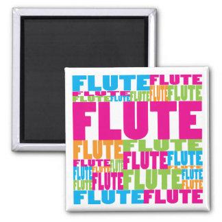Colorful Flute Magnet