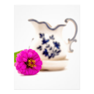 Colorful focus letterhead