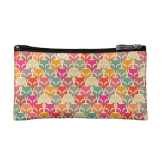 Colorful Fox Cosmetic Bag (Small)