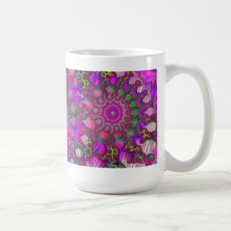 Colorful Fractal Design Mug Shows You Have Style!