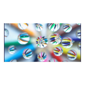 Colorful Fractal Digital Art Photography Pencil Photo Cards