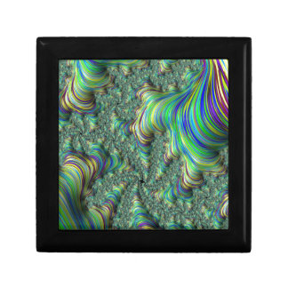 Colorful Fractal Gift Box