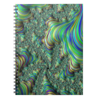 Colorful Fractal Notebook