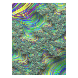 Colorful Fractal Tablecloth
