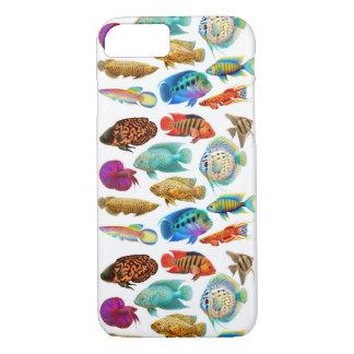 Colorful Freshwater Aquarium Fish iPhone 7 Case