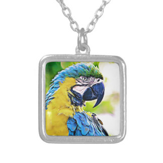 Colorful Friend Silver Plated Necklace