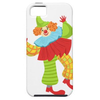 Colorful Friendly Clown In Ruffle To Classic Outfi iPhone 5 Covers