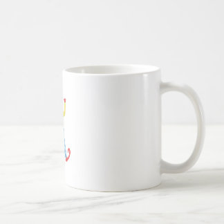 Colorful Friendly Clown With Lollypop In Classic O Coffee Mug