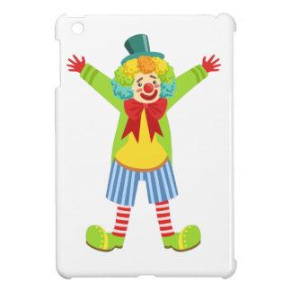 Colorful Friendly Clown With Multicolor iPad Mini Cases