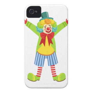 Colorful Friendly Clown With Multicolor iPhone 4 Case-Mate Cases