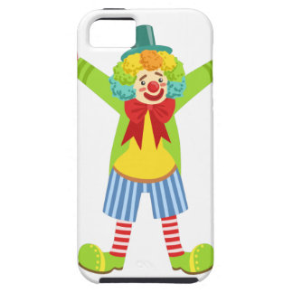 Colorful Friendly Clown With Multicolor iPhone 5 Case