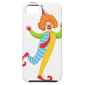 Colorful Friendly Clown With Tie In Classic Outfit iPhone 5 Cover