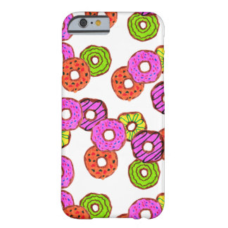 colorful frosted donuts doughnut with sprinkles barely there iPhone 6 case