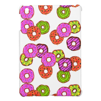 colorful frosted donuts doughnut with sprinkles iPad mini cases